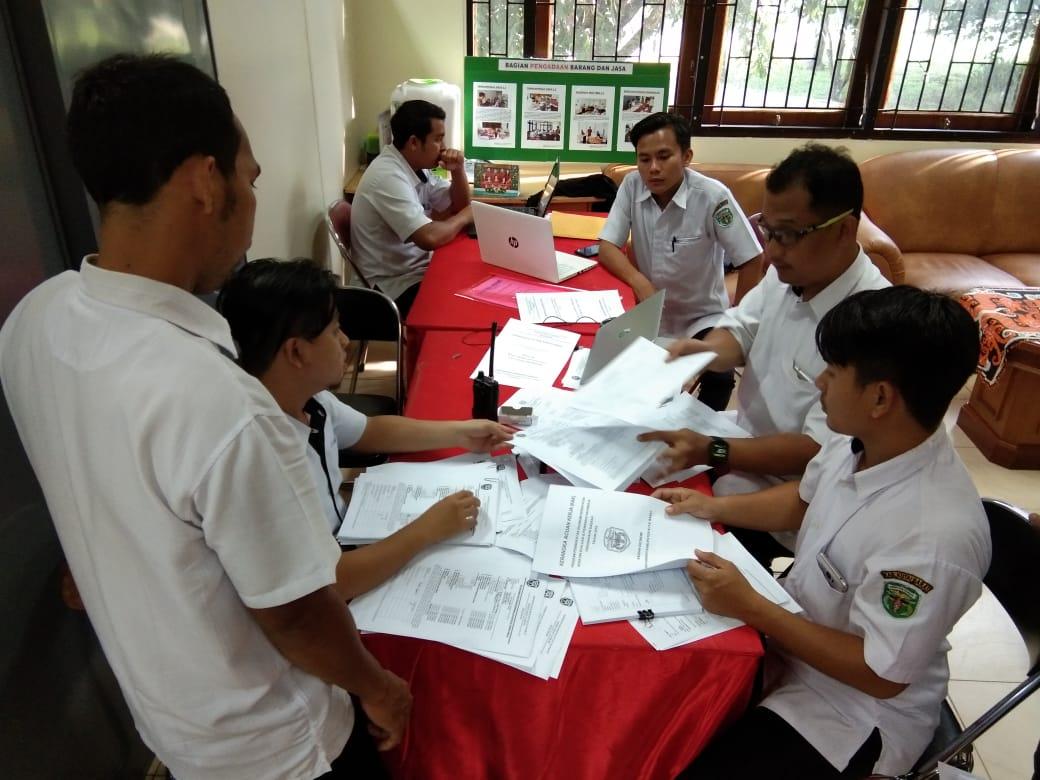 Pelaksanaan Pendampingan RUP dan KAK Tahun Anggaran 2019 – Periode Pelaksanaan November 2019
